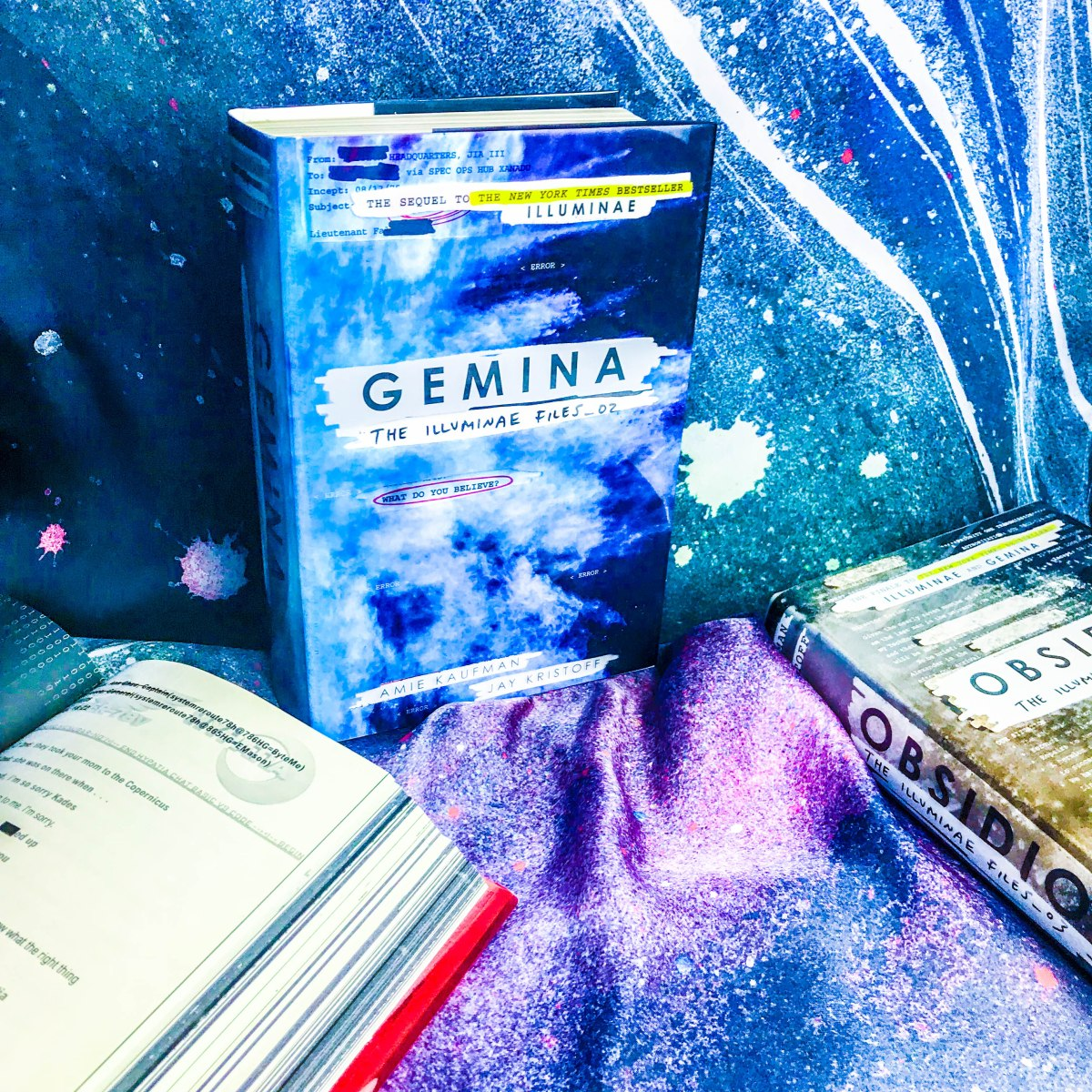 Rezension: Gemina Illuminae Akten_02