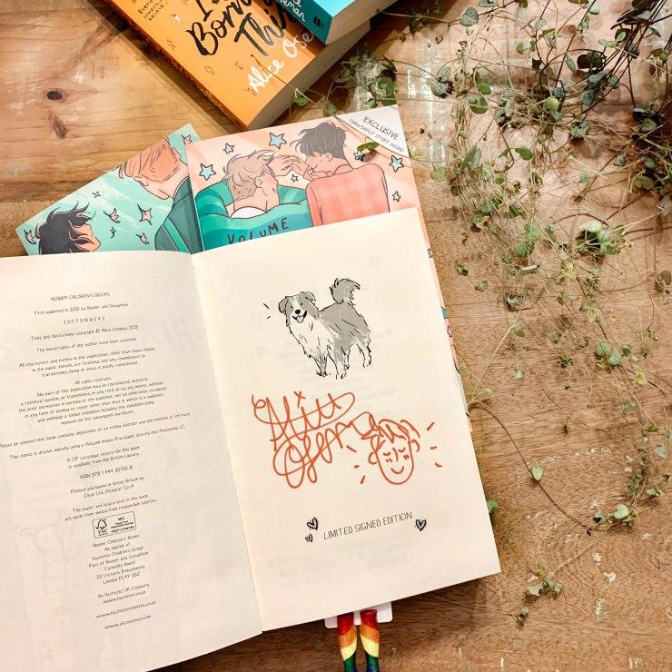 Signed Book Alice Oseman